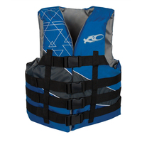 4-Buckle Adjust Poly Vest