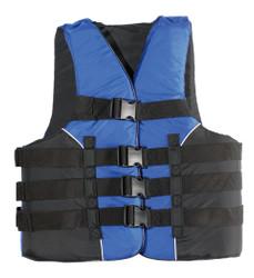 MW Adult 4-Buckle Deluxe Nylon Life Vest
