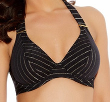 AS3686 Underwire Banded Halter Rock The Beach Bikini Top by Freya