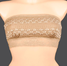 Braza 4800 Taupe Tube Top