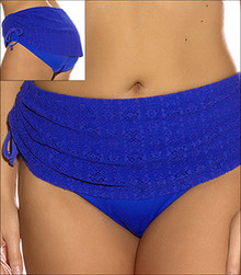 ES7053 Kissimmee Royal Blue Adjustable Swim Brief