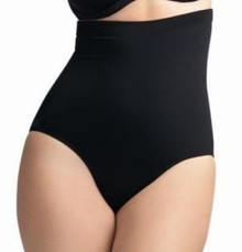 ES7604 Black High Waist Brief Swim Bottom Isis by Elomi
