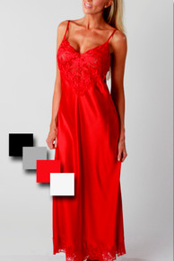 MI62805 Louise Red Ballet Length Gown