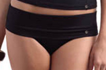 PA0505 Black Fold Brief Ana By Panache