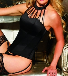SH26916 Black Corset by Shirley of Hollywood