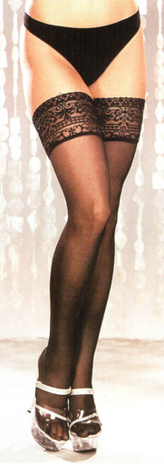 SH6629 Lace Top Stockings by Shirley of Hollywood
