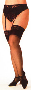 SHX5077 Lace Top Stockings by Shirley Of Hollywood