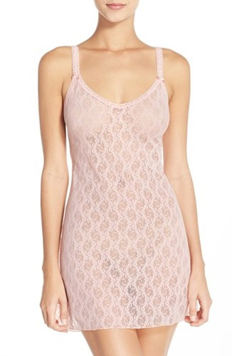 BT914282 Crystal Rose Lace Kiss Chemise by b.tempt'd