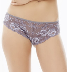 MN9184 Lace Divine Brazilian Pantie by Montelle - Moonstone