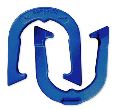 Blue Competition Horseshoes