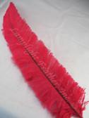 OSTRICH NANDU, STANDARD, Red 12-16 inch per each