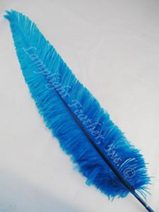 OSTRICH NANDU, STANDARD, Turquoise 12-16 inch per each