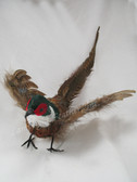 Pheasant Decorative Artificial Bird, ring-necked, FLYING, 16 inch, per  each