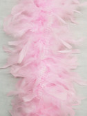 CHANDELLE FEATHER Boa, LIGHT PINK, 40 gram per each