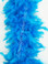 CHANDELLE FEATHER BOAS, TURQUOISE, 40 gram per each