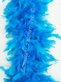 Turquoise Feather Boa Chandelle 40 gram per Each