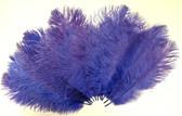 Ostrich Feathers, Purple 8-12 Inch size, per Dozen