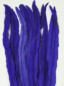 COQUE FEATHERS, 15-18 inch, PURPLE, per DOZEN