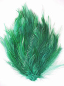 Feather Pad, Hackle, hunter GREEN, per each