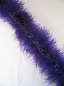 Purple Feather Boa Marabou 15 gram per Two