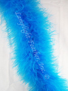 Turquoise Feather Boa Marabou 20 gram per Two
