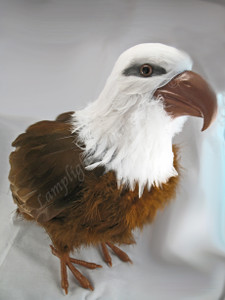 ARTIFICIAL BIRD, Bald Eagle, standing, 10 inch per each