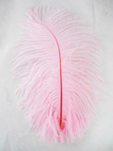 LIGHT PINK OSTRICH FEATHERS, STANDARD, 12-16 inch, per EACH