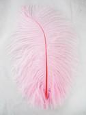 LIGHT PINK OSTRICH Feathers, STANDARD, 12-16 inch, per EACH