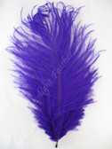 OSTRICH FEATHERS, MINI, PURPLE, per 4