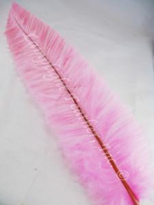 OSTRICH NANDU, LONG, Candy pink 16-19 inch - per each