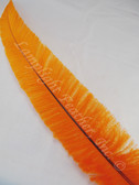 OSTRICH NANDU, SHORT, ORANGE 8-12 inch per each