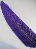 OSTRICH NANDU, SHORT, PURPLE 8-12 inch per each