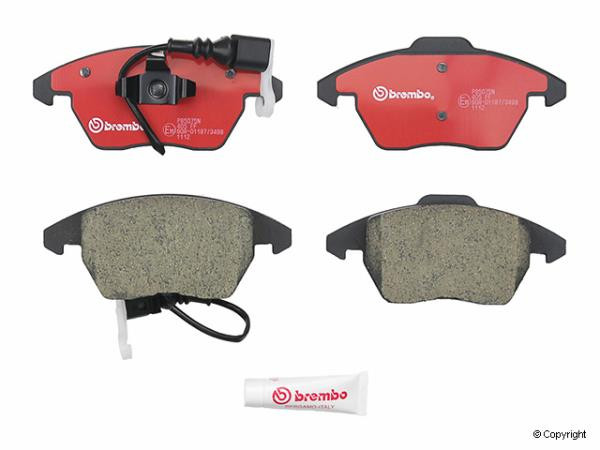 Brembo Brake Pads >> Brembo Brake Pads For Mk5 Front Pair Kermatdi