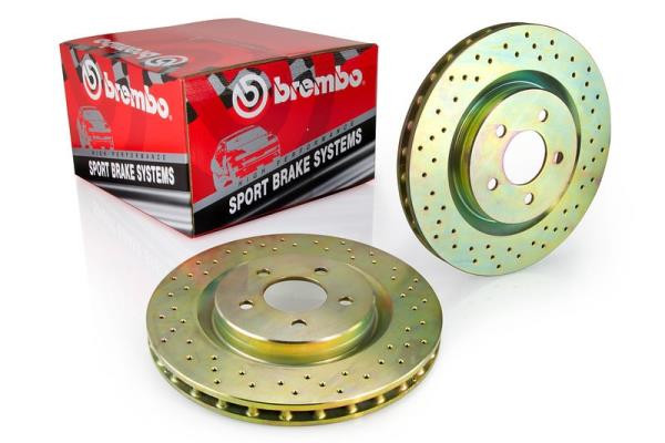 Brembo Rotors Sport Kit - Set of 2 Front, Drilled. (Mk4) 288mm -