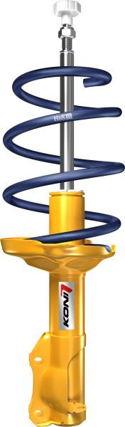 Koni Sport (Yellow) with H&R Springs (Mk6 Golf) -