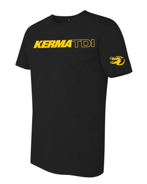 Kermatee Black with yellow -