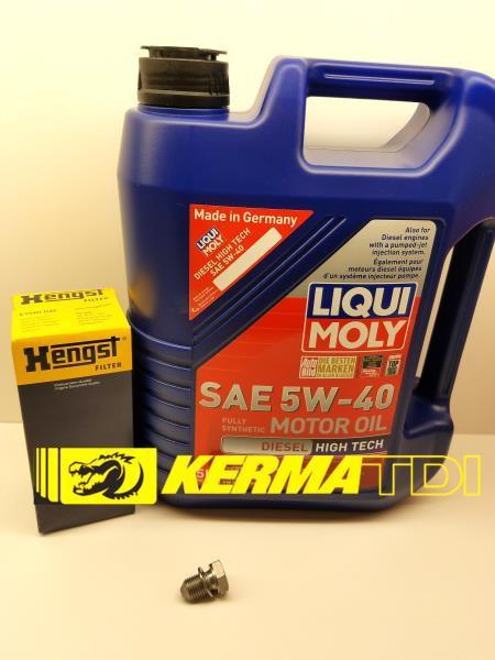 Oil Change Kit for BHW -