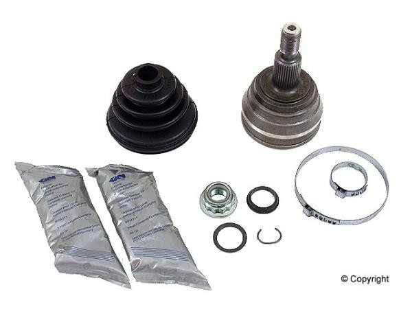 Outer CV Joint and Boot Kit (Mk4 Manual & 4-Speed Auto) -