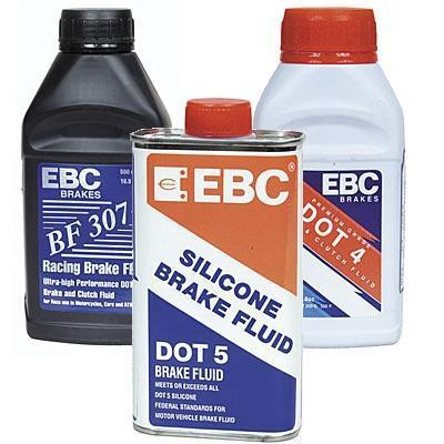 DOT 4 replacement brake fluid - case of 6 bottles -