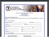 Student Assessment/Registration Form