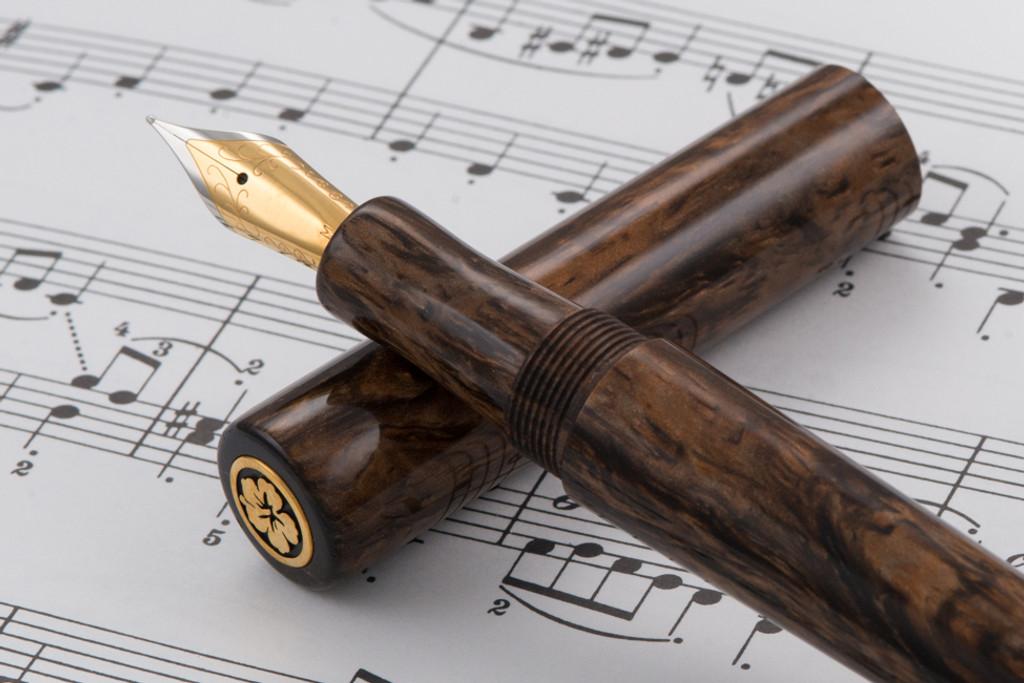Pahoehoe Fountain Pen