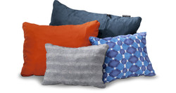 Thermarest Compressible Pillow: Small Denim Blue