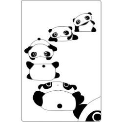 Personalised Luggage Tag - Panda