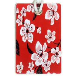 Personalised Luggage Tag - Red Tribal Tattoo