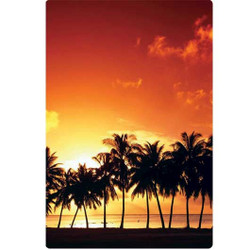 Personalised Luggage Tag - Californian Sunset
