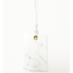 Personalised Luggage Tag - Marble