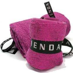 Menda Ultimate Travel and Sports Towel Set: Magenta Pink