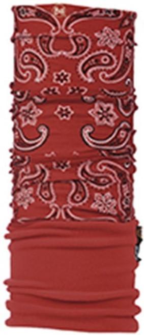 Buff Multi Function Headwear - Polar in Cashmere Red