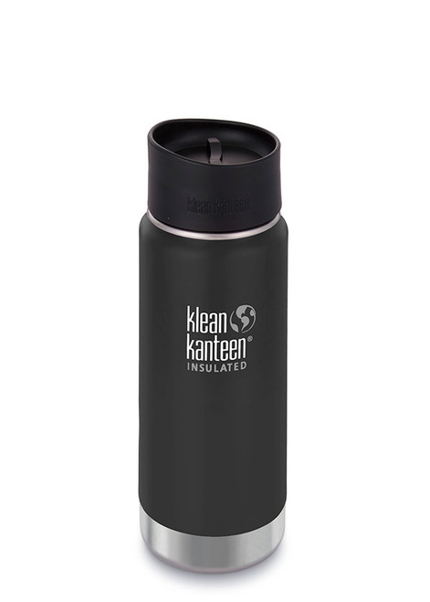 Klean Kanteen - Insulated Wide Mouth - 16oz 473ml - Shale Black