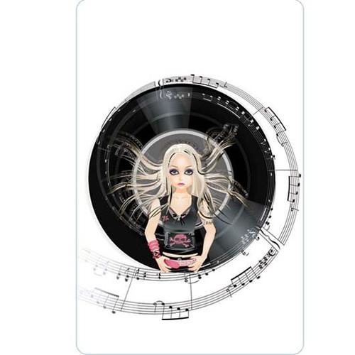 Personalised Luggage Tag - Rock Princess